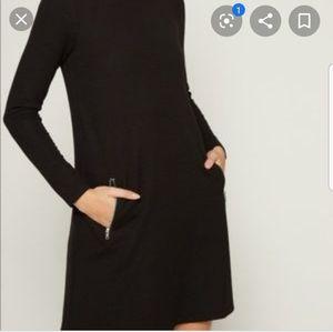 Gap Zip Pocket Shift Dress